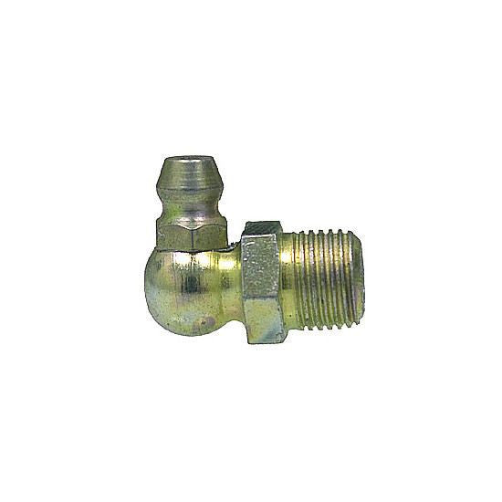 "Auveco # 9266  Grease Fitting 1/8"" Npt 90 Degree (1613)."