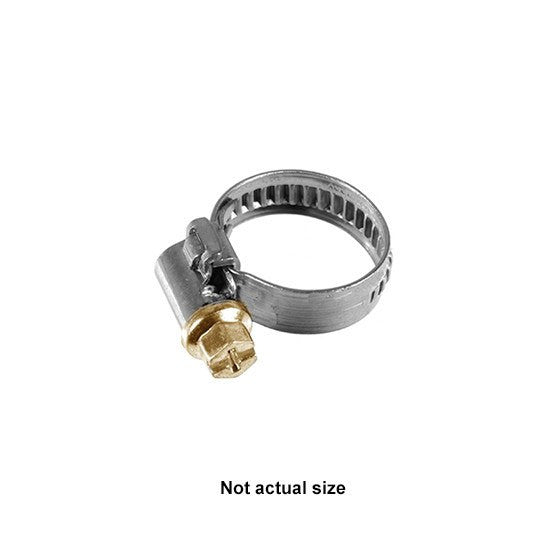 "Auveco # 16868  Hose Clamp 5/16"" - 1/2"" (8mm - 12mm) Range."