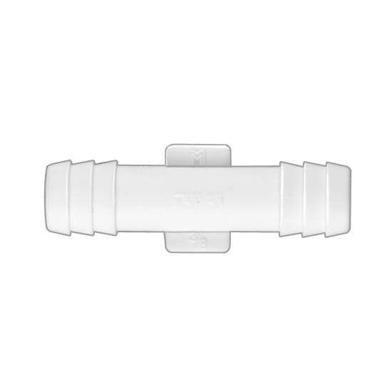"Auveco # 12934  Nylon Straight Connector 3/8"" X 3/8""."