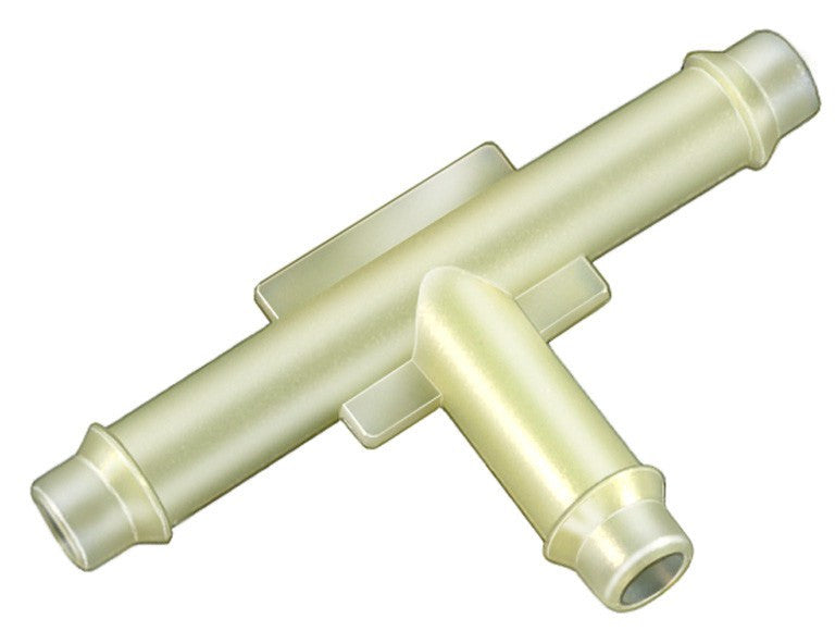 "Auveco # 17629  Nylon Tee Connector 1/4"" X 1/4"" X 1/4""."