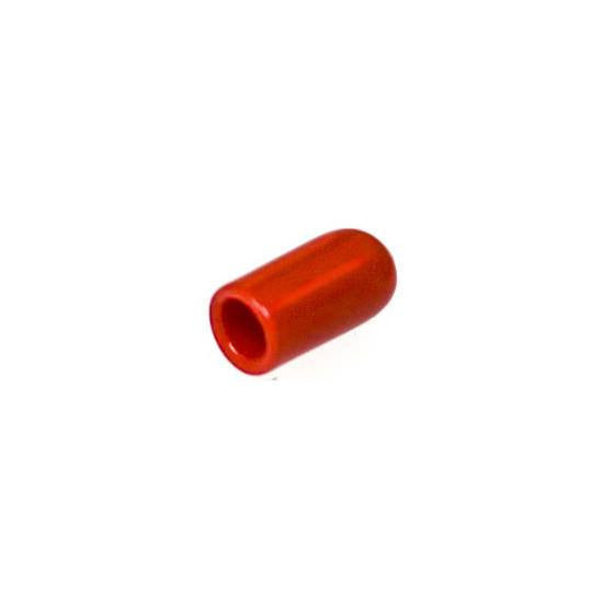 "Auveco # 18203  Vinyl Vacuum Cap Red For 1/4"" Diameter Tube."