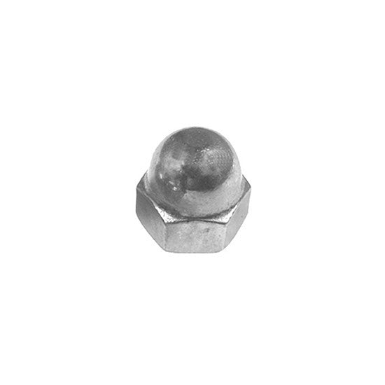 "Auveco # 13252  1/4""-20 Acorn Nut 18-8 Stainless Steel."
