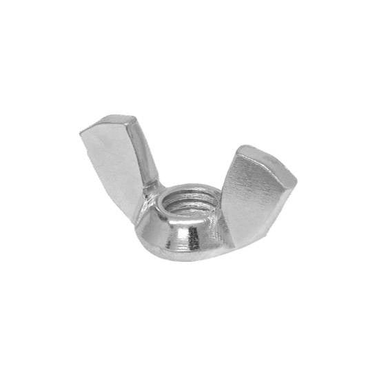 "Auveco # 3741  1/4""-20 Cold Forged Wing Nuts Nickel."