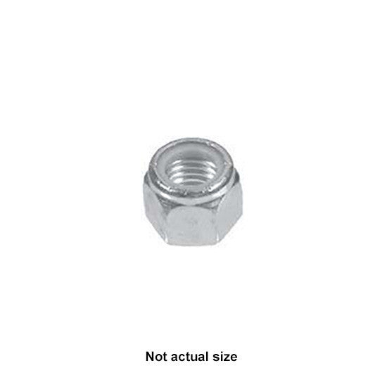 Auveco # 11049  4mm-.7 Metric Nylon Insert Lock Nut DIN 985.