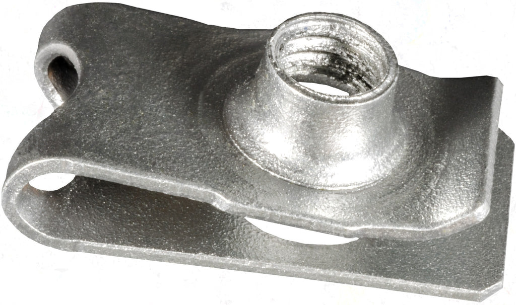 "Acura And Honda Extruded ""U"" Nut, Zinc. Auveco 22105. Qty. 25"