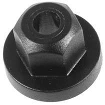 Auveco # 21431  BMW And Mercedes-Benz Molding Nut.
