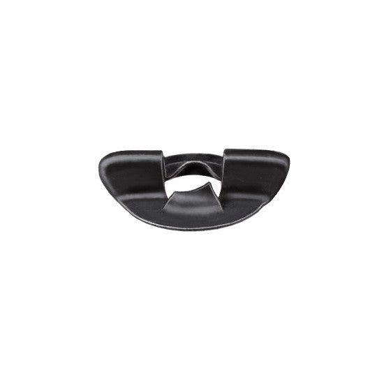 Auveco # 18531  Chrysler Ziptwist Wing Nut 6mm Threads Black.