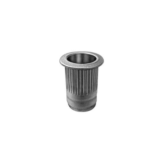 Auveco # 19220  GM Insert Nut M6-1.0 .7mm-4.2mm Grip Zinc/Yellow.