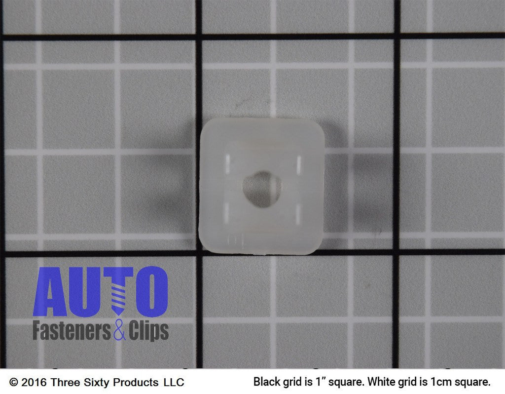 License Plate Nut (Nylon). Auveco 8435. Qty. 50