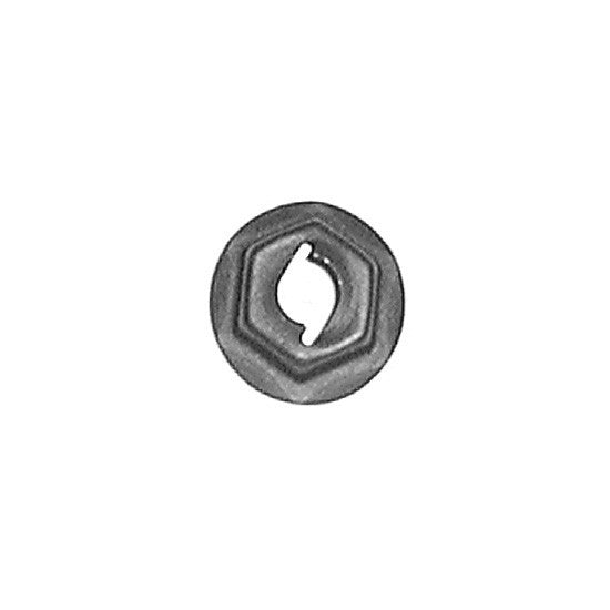 Auveco # 12253  Thread Cutting Nut 5mm Stud Size -Phosphate.