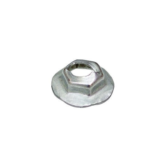 Auveco # 12255  Thread Cutting Nut 6.3mm Stud Size - Zinc.