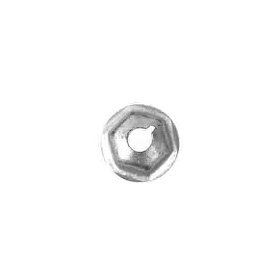 Auveco # 12254  Washer Lock Nut M5-.8 14mm Diameter 6mm Height.