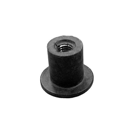 Auveco # 13002  Well Nut M6-1.0 Threads .787 Hd. Diameter.