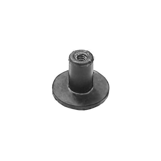 Auveco # 13005  Well Nut Number 8-32 Threads .750 Hd. Diameter.