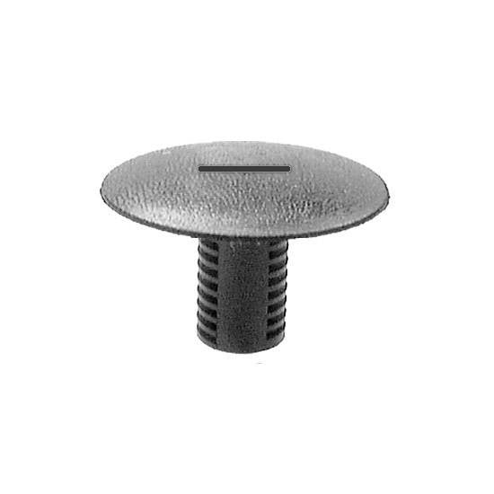 Auveco # 13860  Carpet Retainer (Black) 30mm Hd. Diameter.
