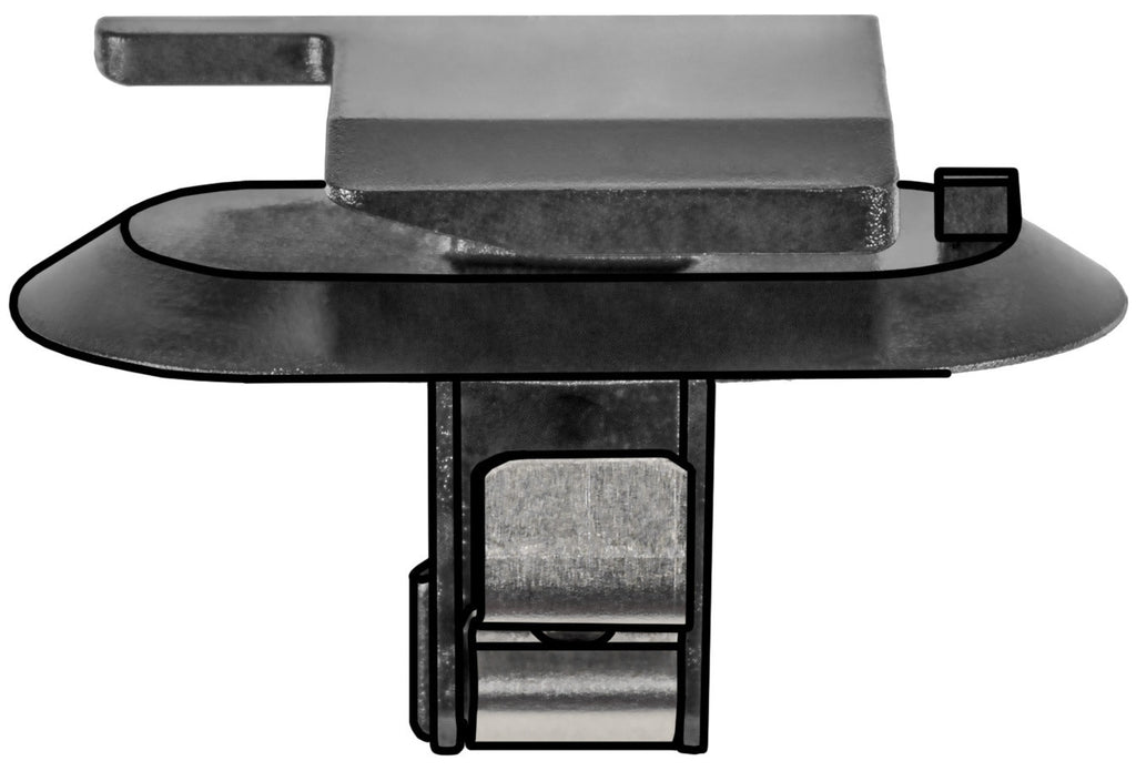 Auveco # 22024  GM Molding Clip With Metal Reinforcement.