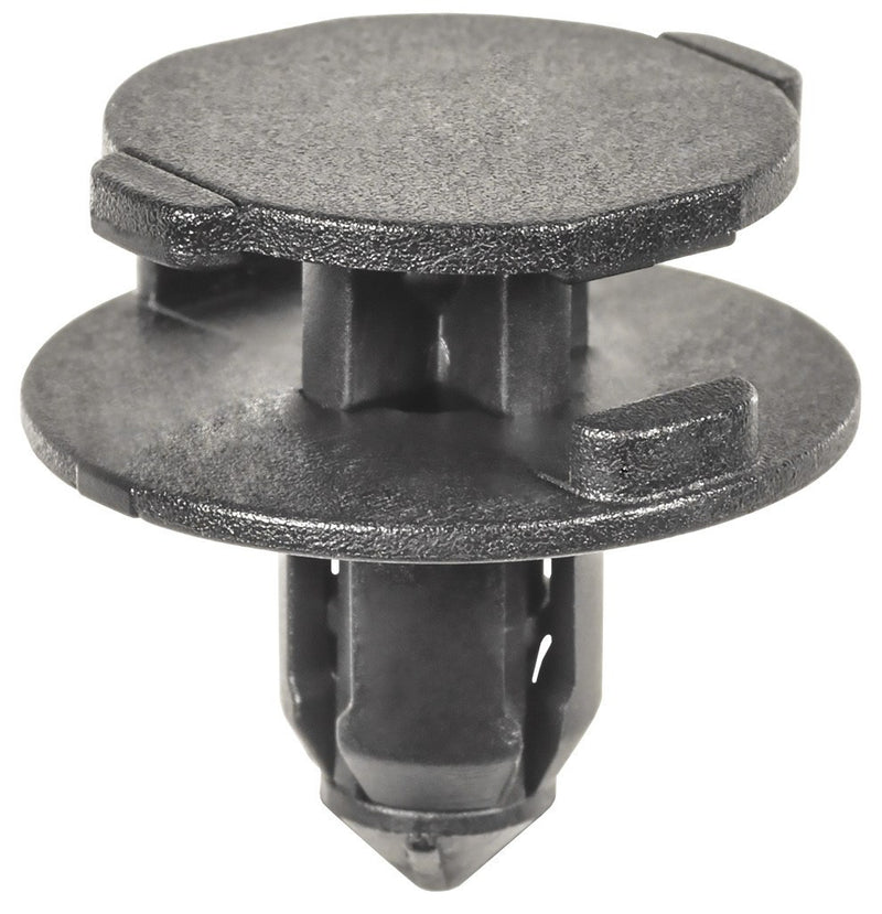Auveco # 22039  Nissan/Infiniti Push Type Retainer, Black Nylon.