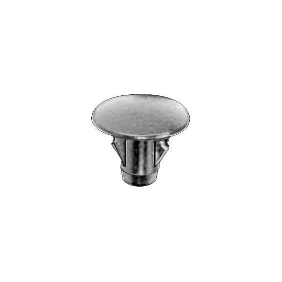 Auveco # 19123  Toyota Fender Apron Seal Clip 17mm Hd. Diameter.