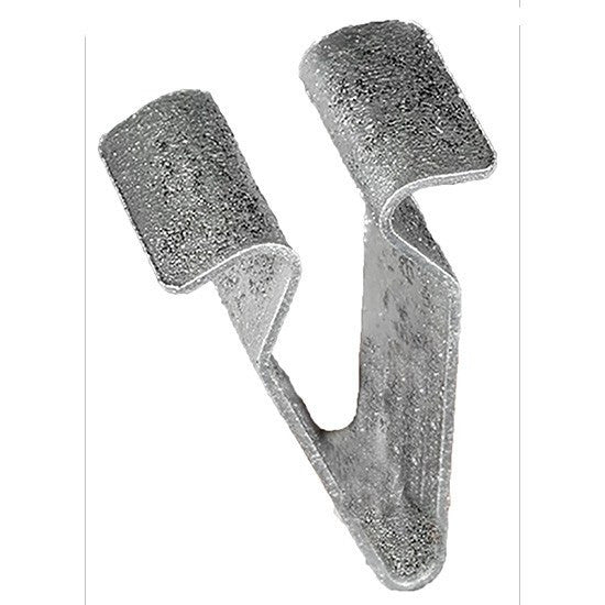 Auveco # 22116  Volkswagen And Audi Molding Clip, Zinc Plated.