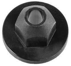 Auveco # 21456  Volkswagen And Audi Molding Nut.