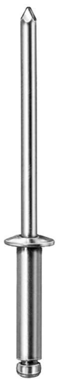 "Auveco # 16032  Blind Rivet 1/4"" Hd. Diameter 5/8"" Rivet Length."