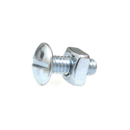 "1/4""-20 X 3/4"" Slotted Truss Machine Screw Zinc. Auveco 2472. Qty. 100"
