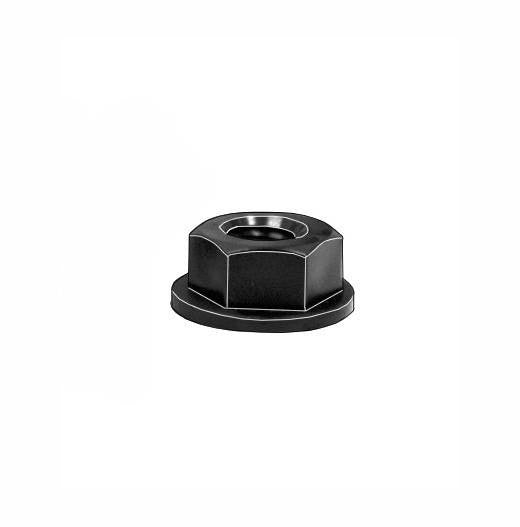 "Auveco # 18488  Black Nylon License Plate Nut 1/4""-20."