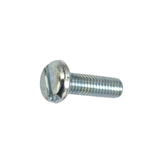 Auveco # 14395  DIN 85, 6 X 20mm Pan Hd. Machineine Screw Znc.