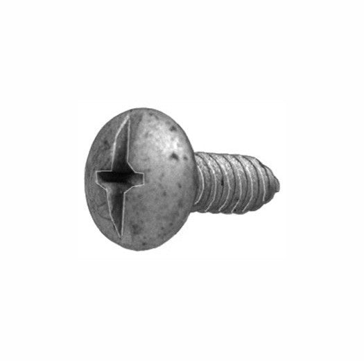Duo-Drive Truss Head License Plate Screw. Auveco 21081. Qty. 50