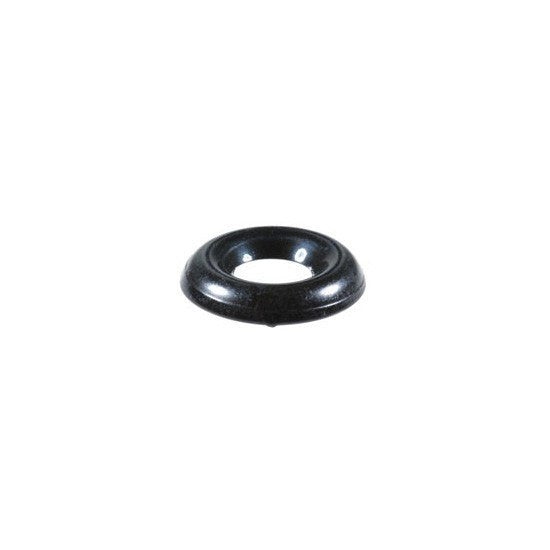 Number 10 Countersunk Brass Finish Washer Black Zinc. Auveco 16013. Qty. 100