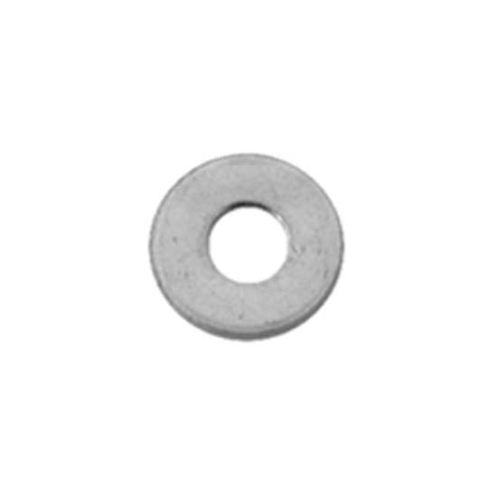 Number 6 Flat Washer 18-8 Stainless Steel. Auveco 13392. Qty. 100