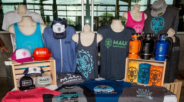 Maui Screen Printing and Maui Brewing Co. are Continuing Their Partnership