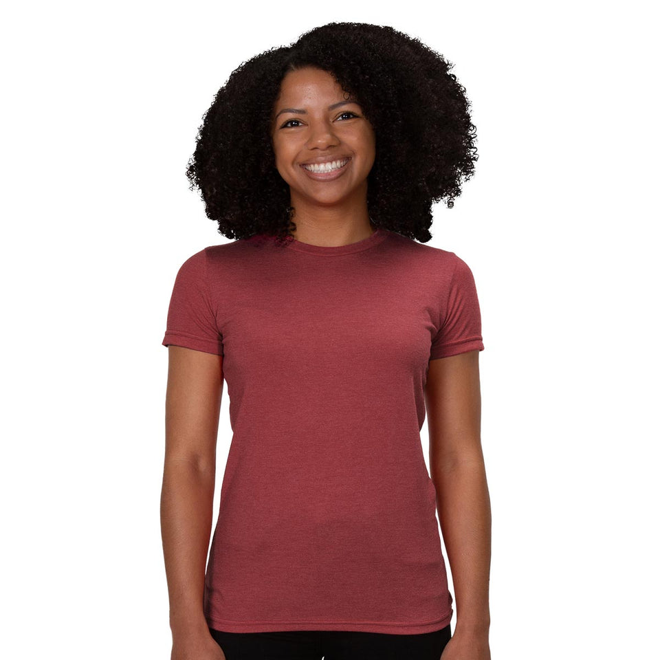 Allmade Women's Tri-Blend Crewneck T-Shirt | Allmade® Apparel