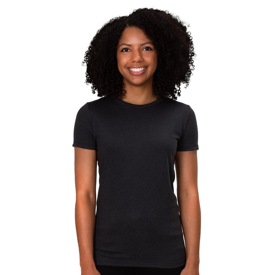 Allmade Ladies Tri-Blend Crewneck T-Shirt | Allmade® Apparel