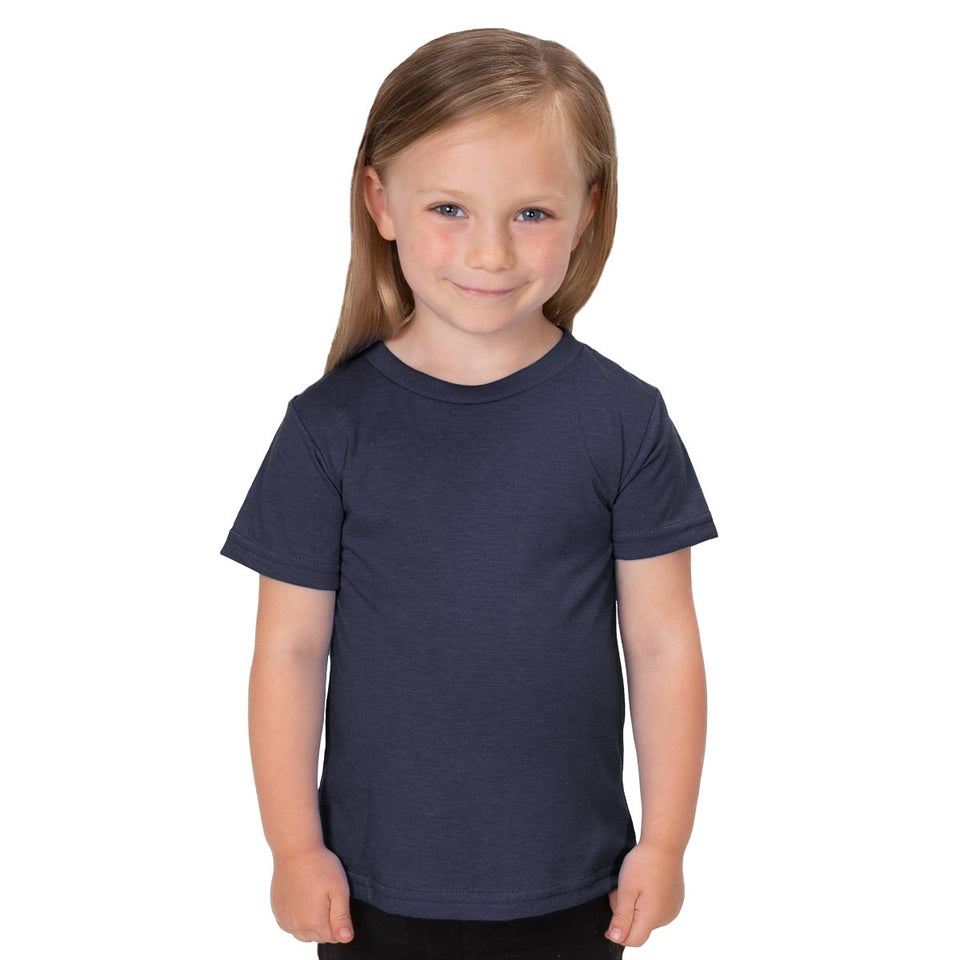 Allmade Toddler Tri-Blend Crewneck T-Shirt | Allmade® Apparel