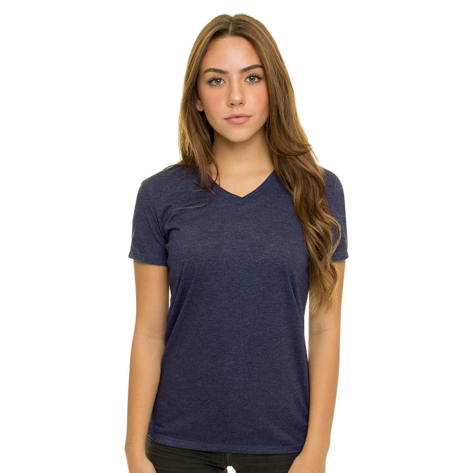 Allmade Ladies Tri-Blend V-Neck T-Shirt | Allmade® Apparel