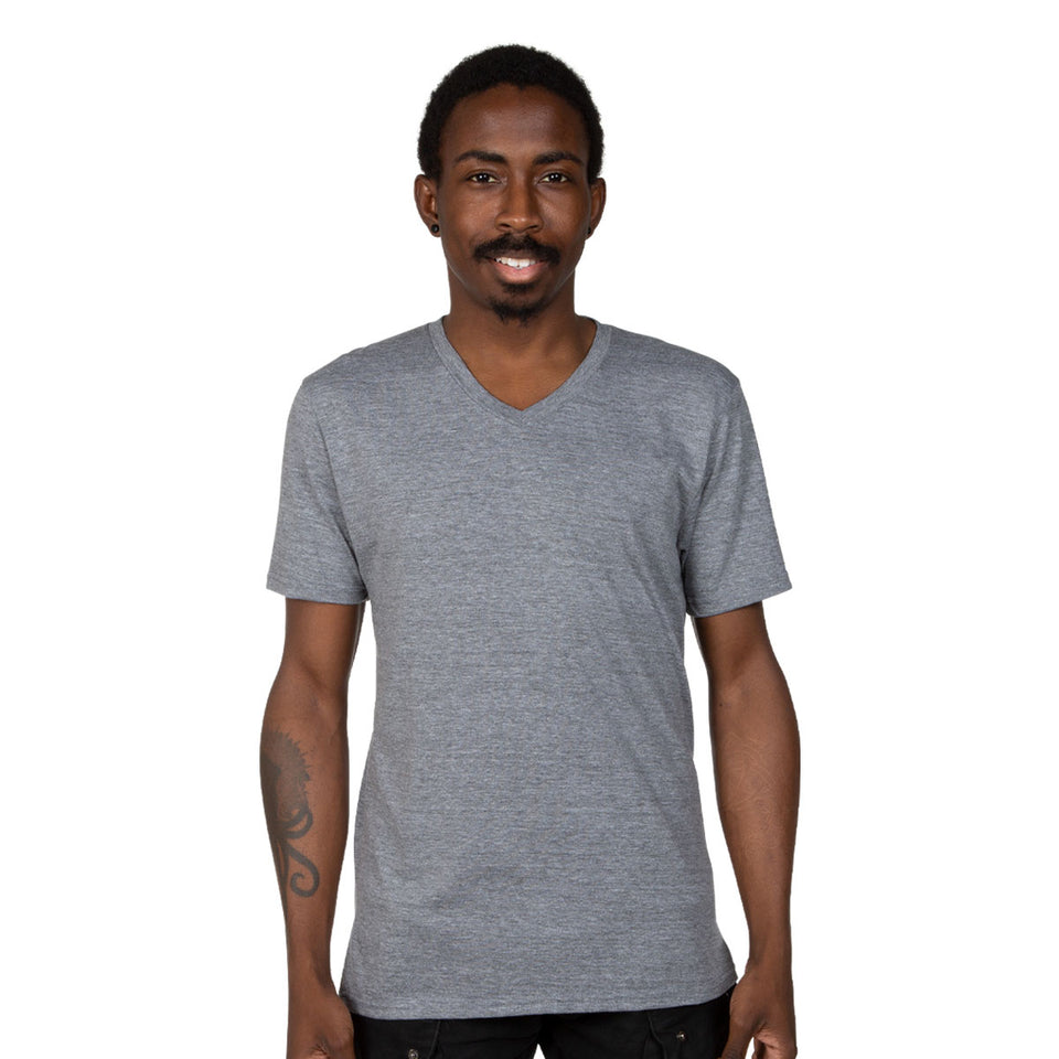 Allmade Unisex Tri-Blend V-Neck T-Shirt | Allmade® Apparel