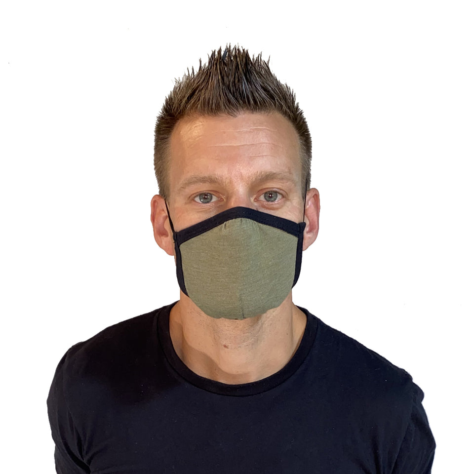 Allmask™ Tri-Blend Protective Face Mask (3 pack) | Allmade® Apparel