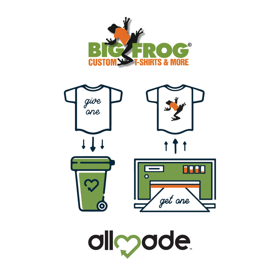 Big Frog x Allmade Earth Day Event. | Allmade® Apparel