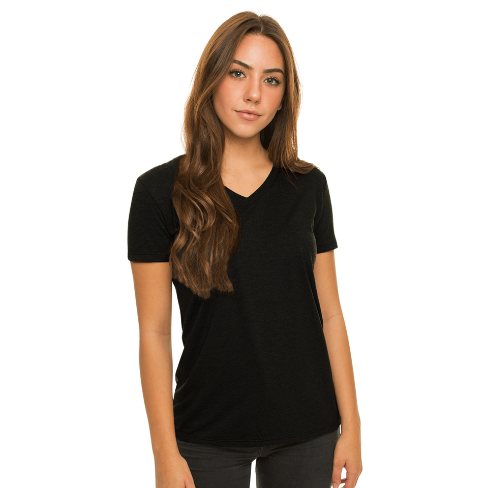 Allmade Women's Cotton V-Neck T-Shirt | Allmade® Apparel
