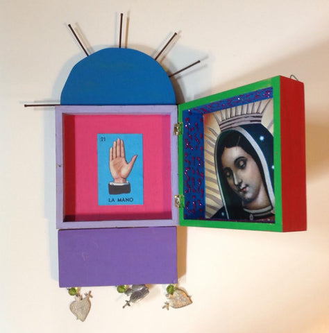 Mexican retablo box