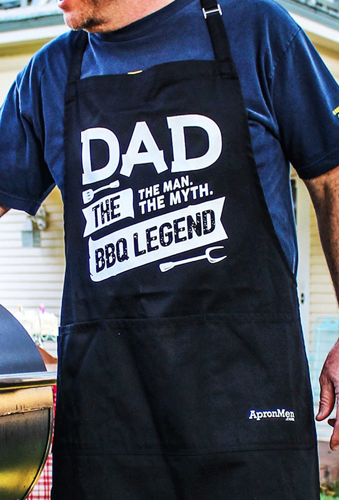 Dad: The Man, The Myth, The BBQ Legend