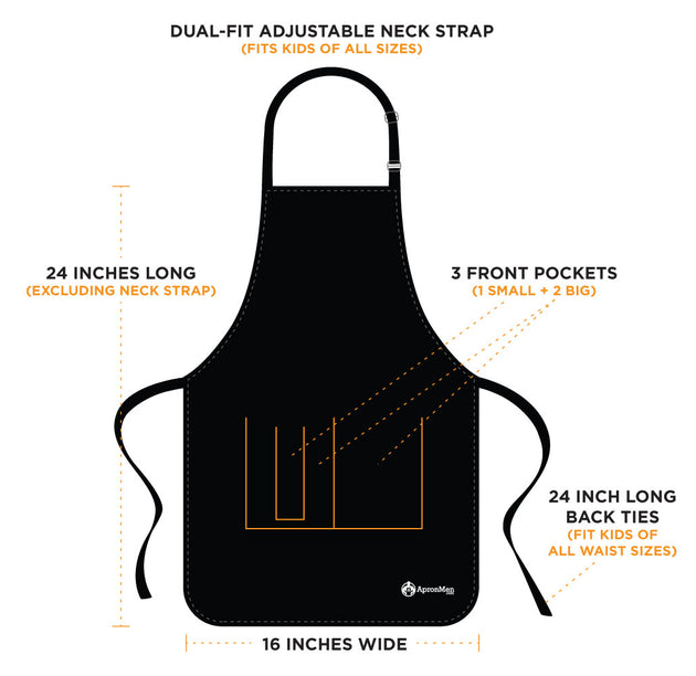 Kiss The Cook - Kids Apron