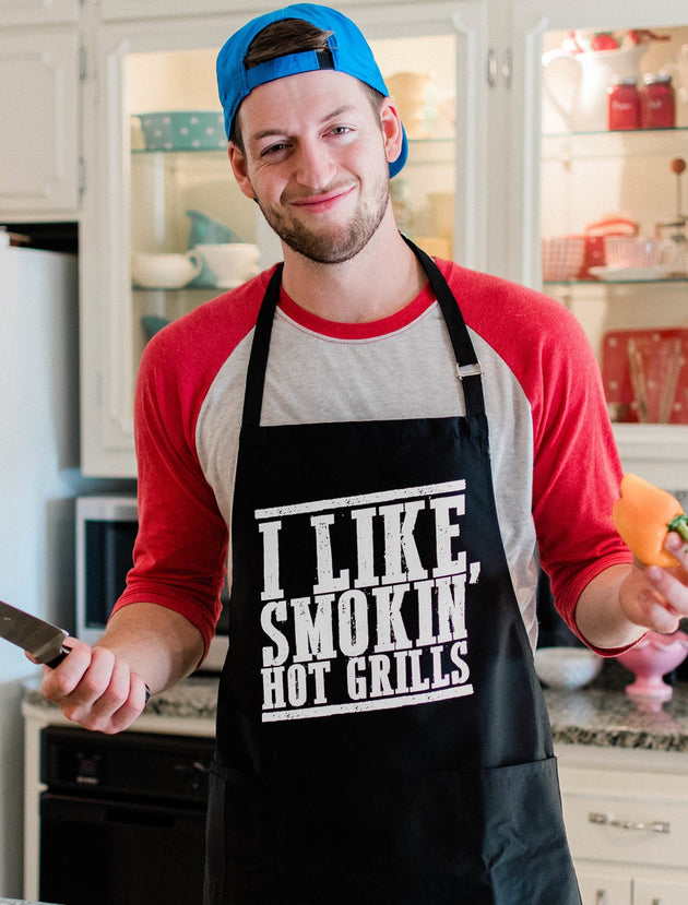 I Like Smokin' Hot Grills Apron