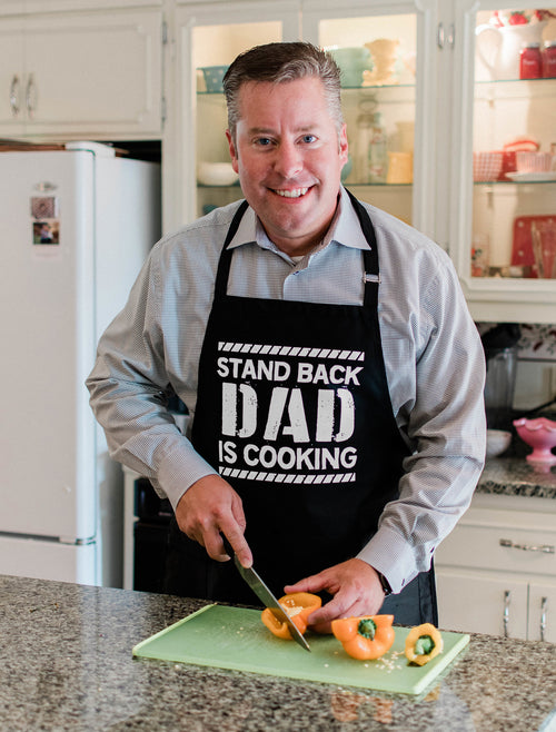 Stand Back: Dad's Cooking