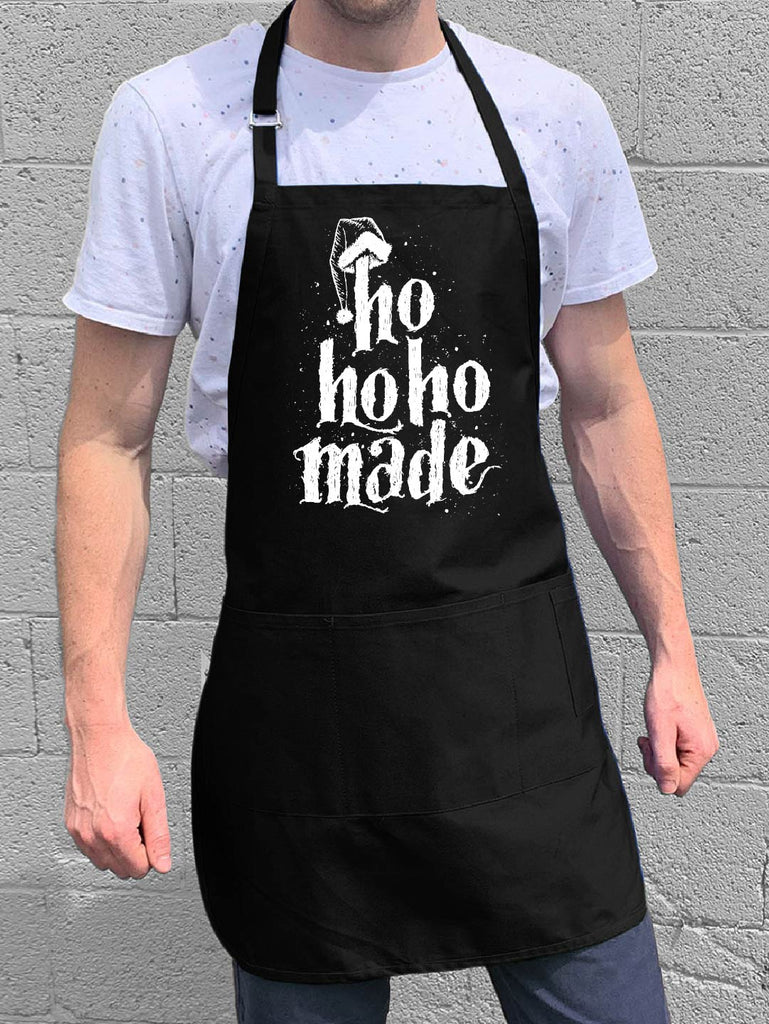Ho ho ho made apron
