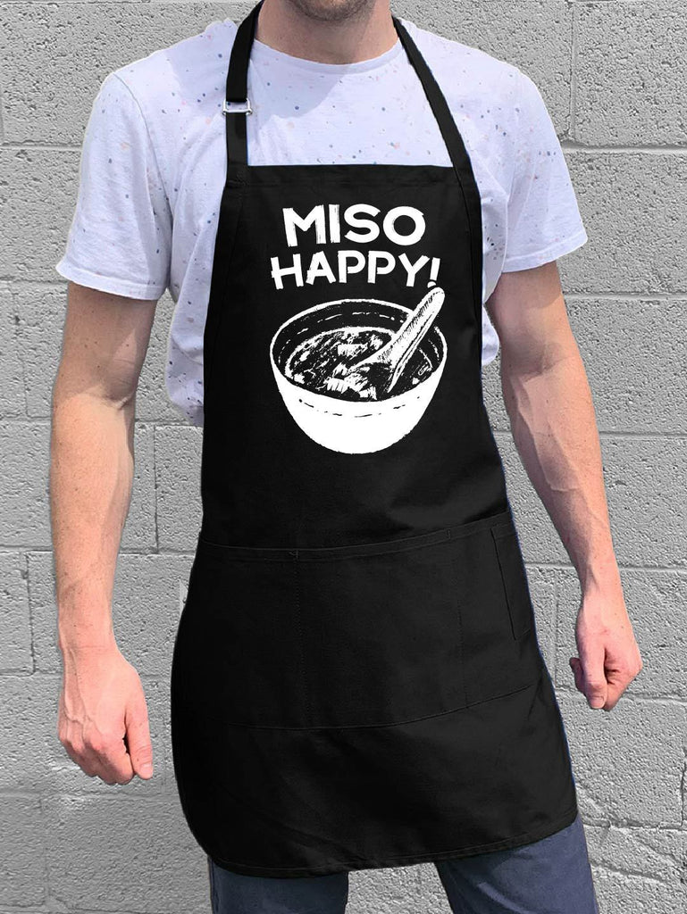 Miso Happy Apron - Black
