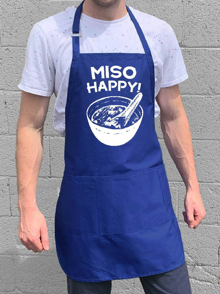 Miso Happy Apron - Blue