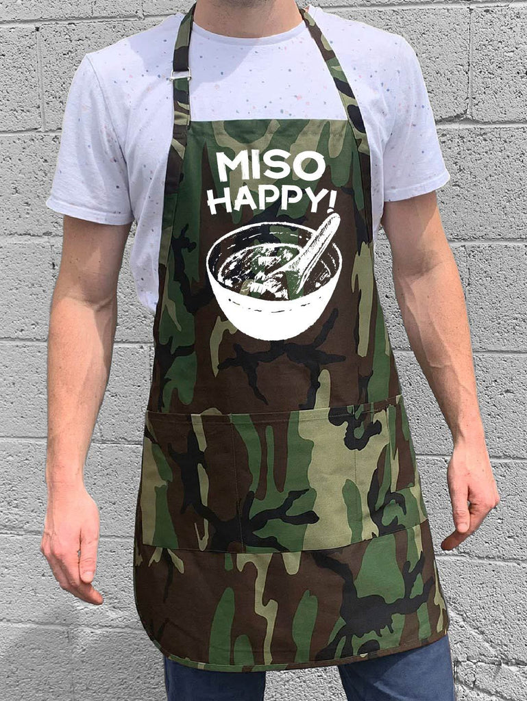 Miso Happy Apron - Camo
