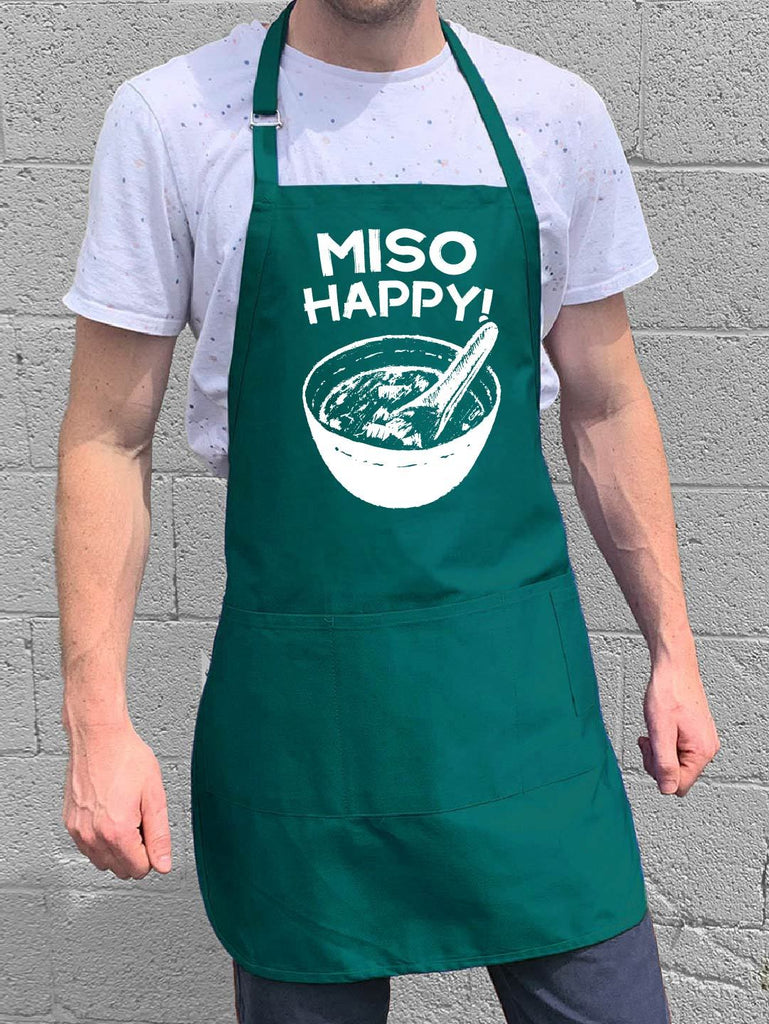 Miso Happy Apron - Teal